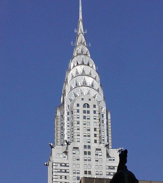 The Chrysler Building New York