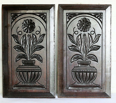 Antique French Carved Panles