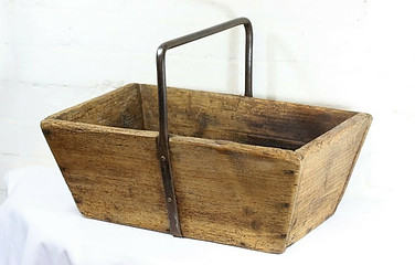 Antique French Trug