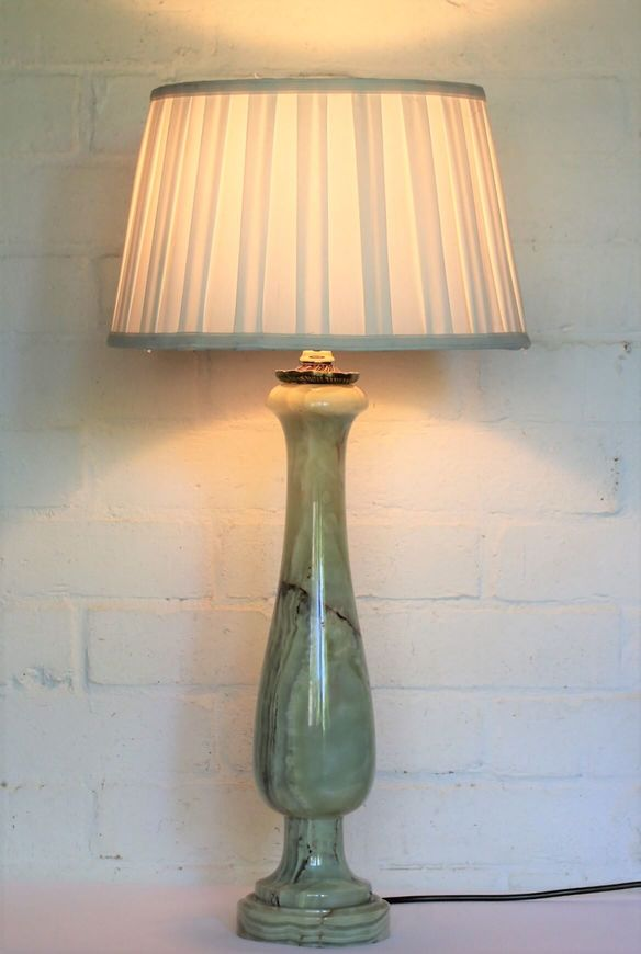 Vintage Marble Table Lamp