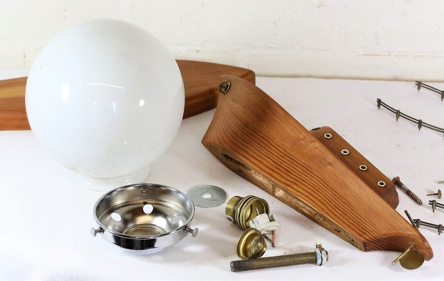 Art Deco Boat Lamp