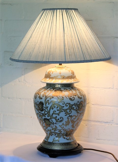A Review of a Vintage Carlos Remes Oriental Table Lamp.