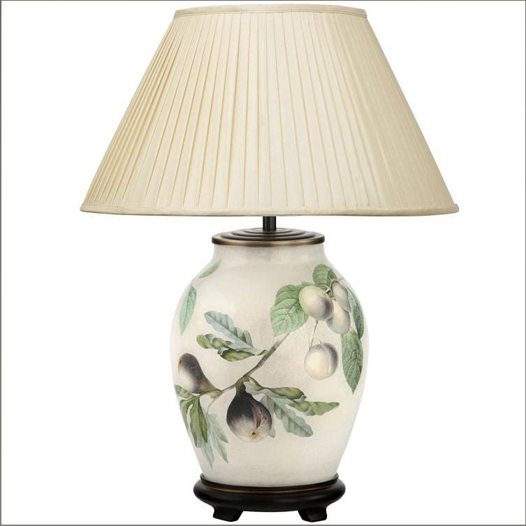 A Review of Jenny Worrall Table Lamps. Hand Made Potichomania Reverse Painted Lamps.