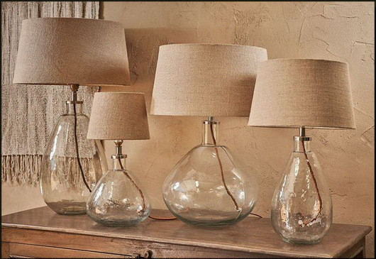 Artisan Glass Table Lamps