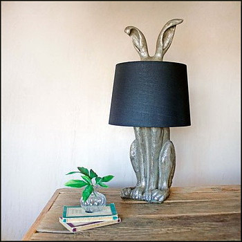 Silver Hetty Table Lamp by Graham & Green
