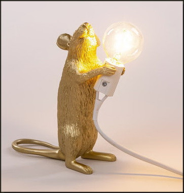 The Mouse Standing #1 Table lamp by Seletti.