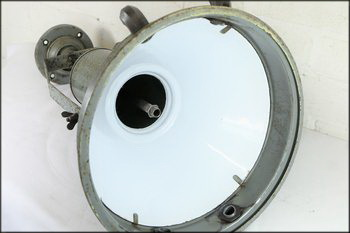Vintage industrial ceiling light