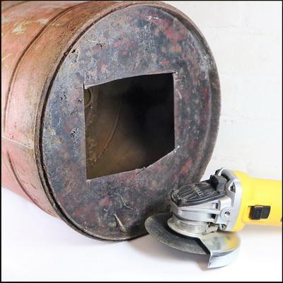 Vintage Petrol Can Lamp