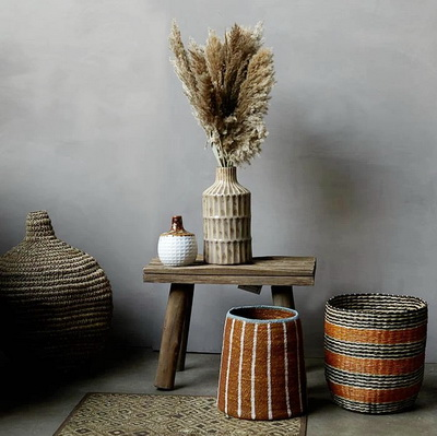 Abigale Ahern Interiors – Ceramics and Baskets