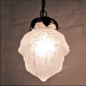 Restoring Antique Art Nouveau Lighting.