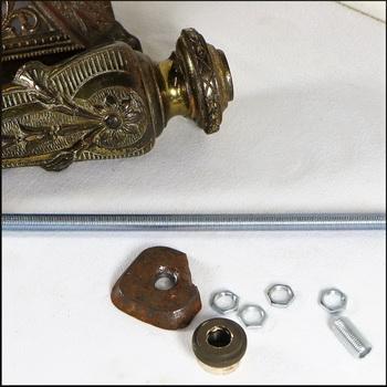Antique Victorian Oil Lamp